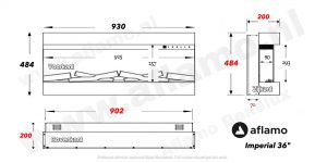 Dimplex Vivente 75 sfeerhaard